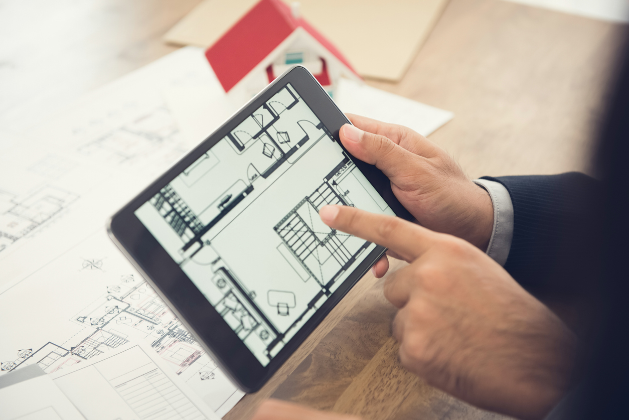 Exposé für Immobilien: Grundrisse