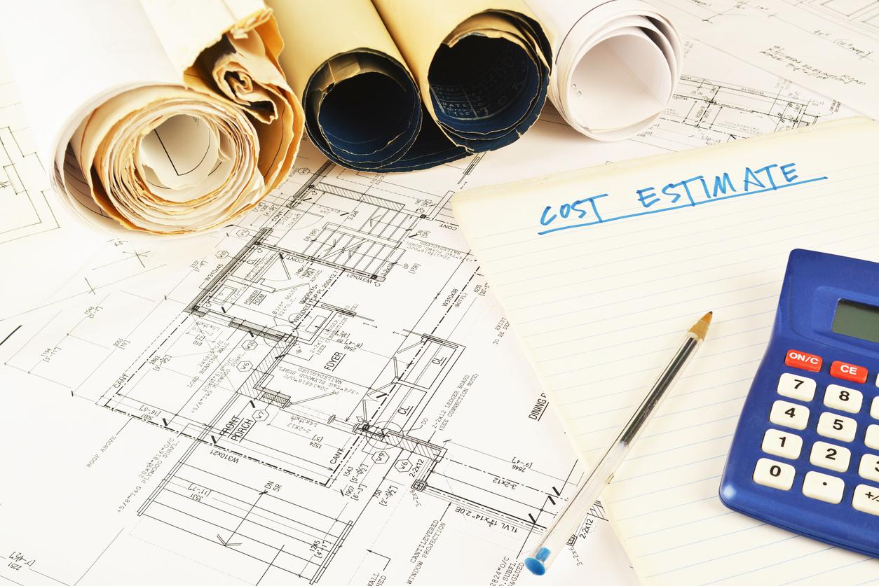 Die Kosten des Lageplans orientieren sich an dem Herstellungswert des geplanten Bauvorhabens