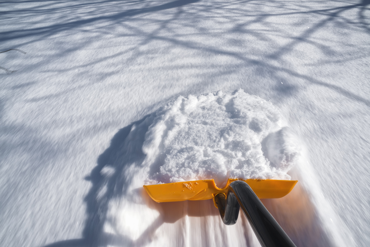 Schneeraeumpflicht: Schaufel