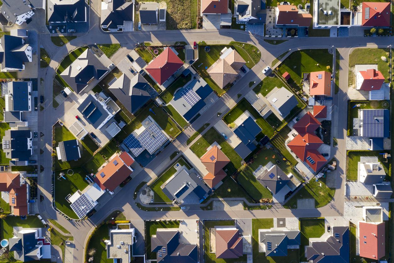 Bebauungsplan: Wohngebiet