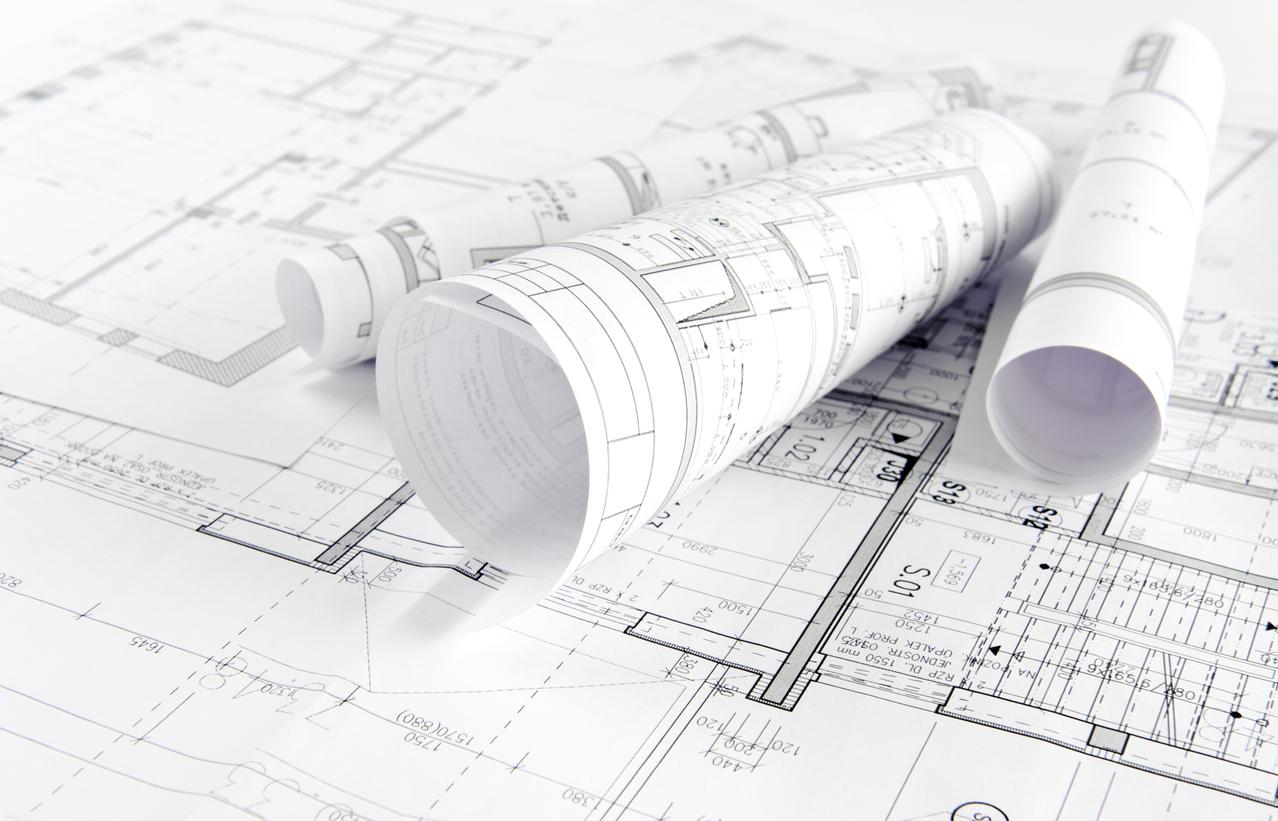Ein einfacher oder qualifizierter Lageplan haben unterschiedliche Komponenten.