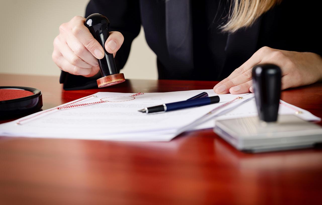 Löschungsbewilligung: Notar