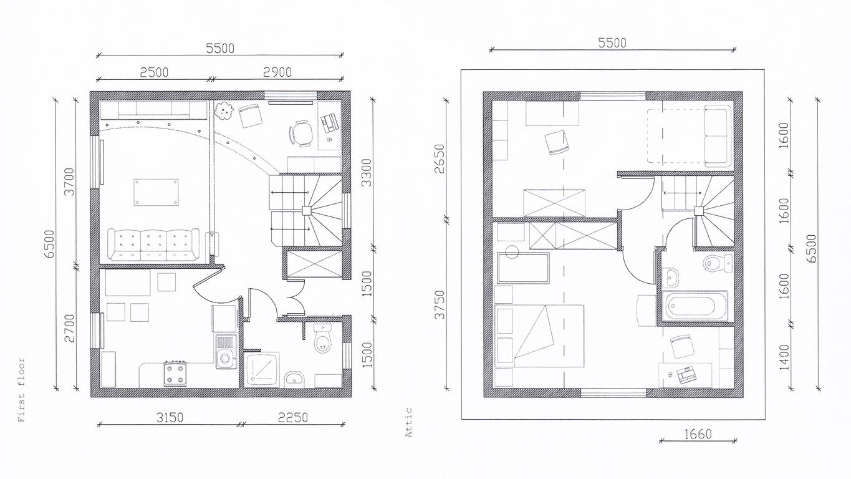 Hausverkauf Unterlagen: Grundriss