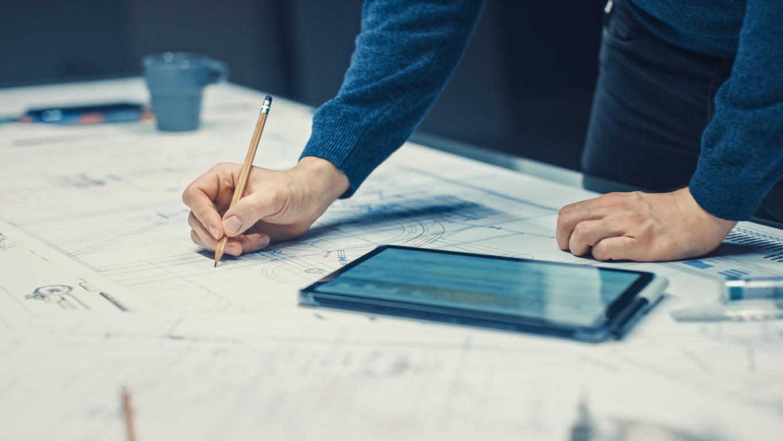 Der Lageplan ist eine wichtige Grundlage im Baugenehmigungsverfahren.
