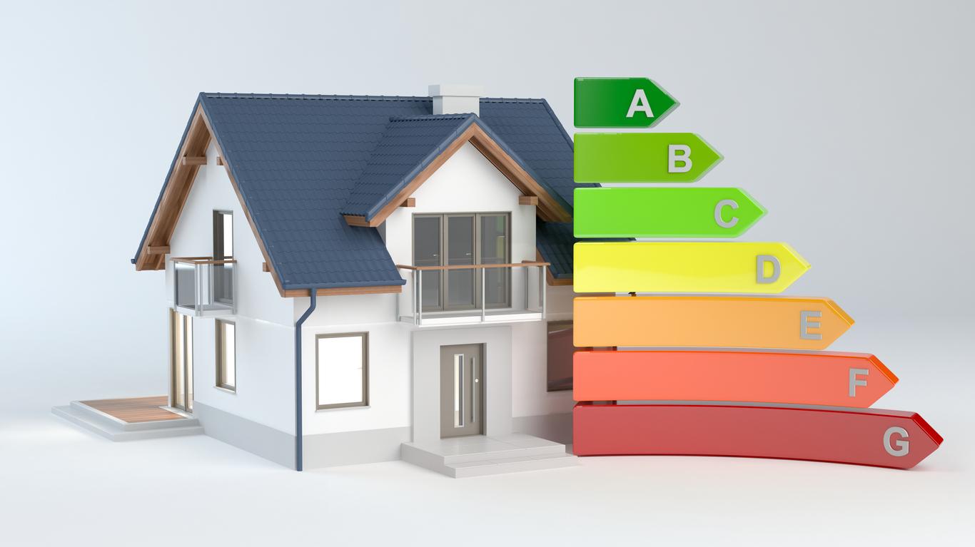 Energetische Neubauten weisen nur ein Zehntel des Energiebedarfs eines Altbaus auf.