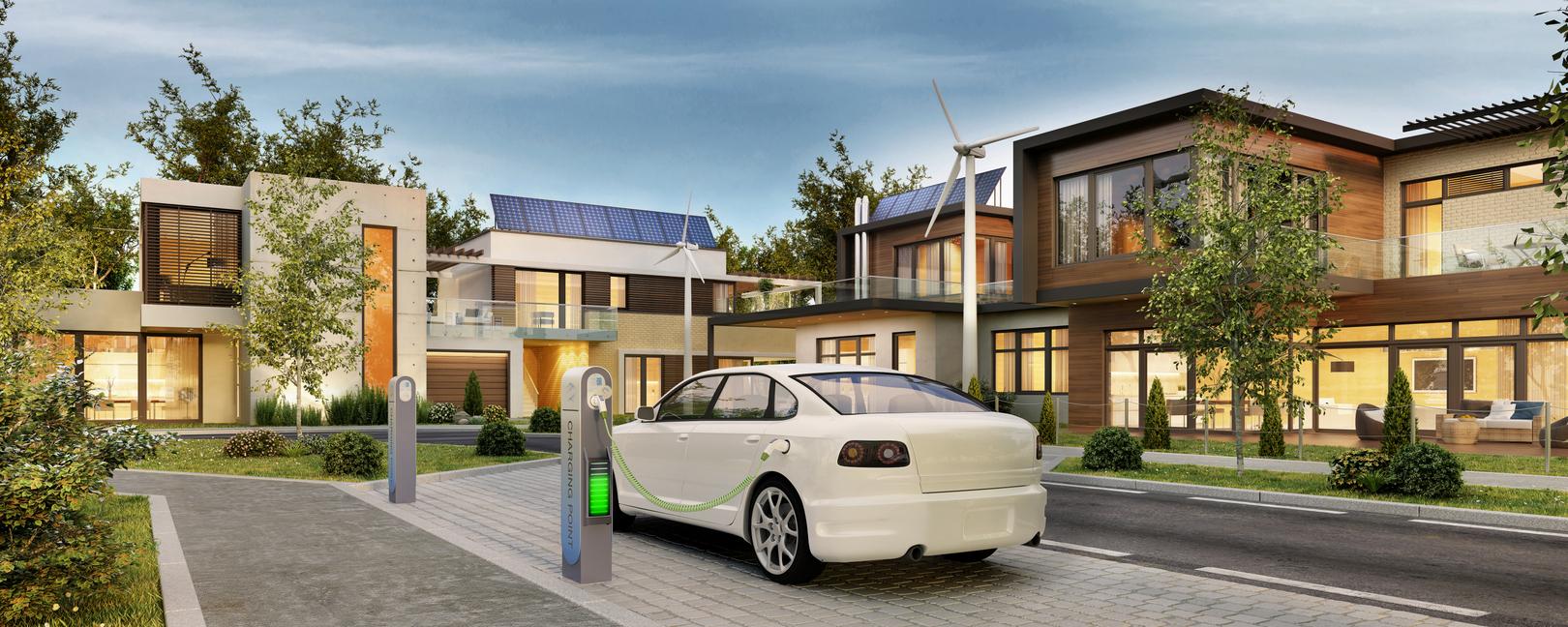 Für Eigentümergemeinschaften ist es leichter geworden, Baumaßnahmen umzusetzen, von denen Elektro-PKW profitieren.