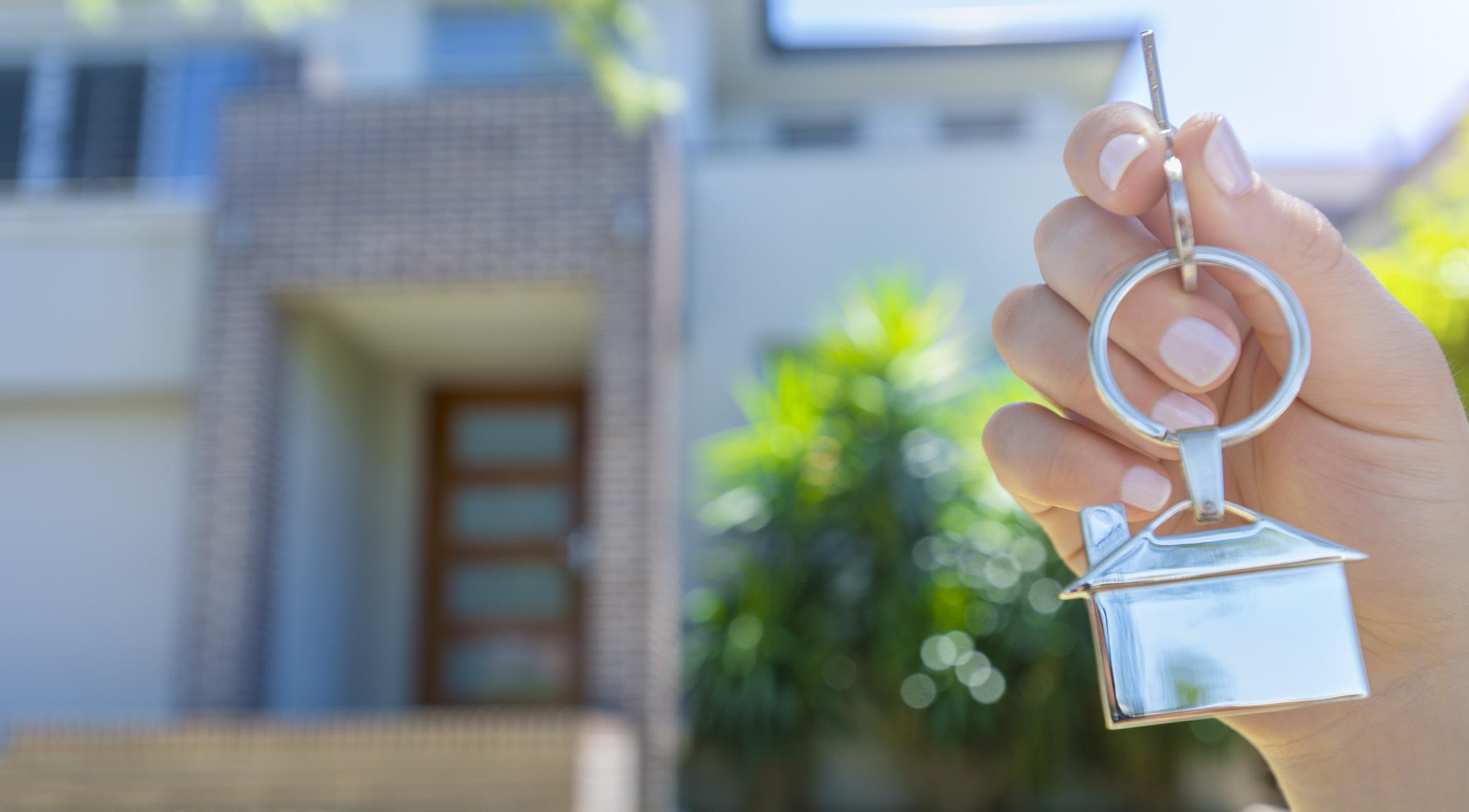 Immobilie verkaufen: Schlüsselübergabe