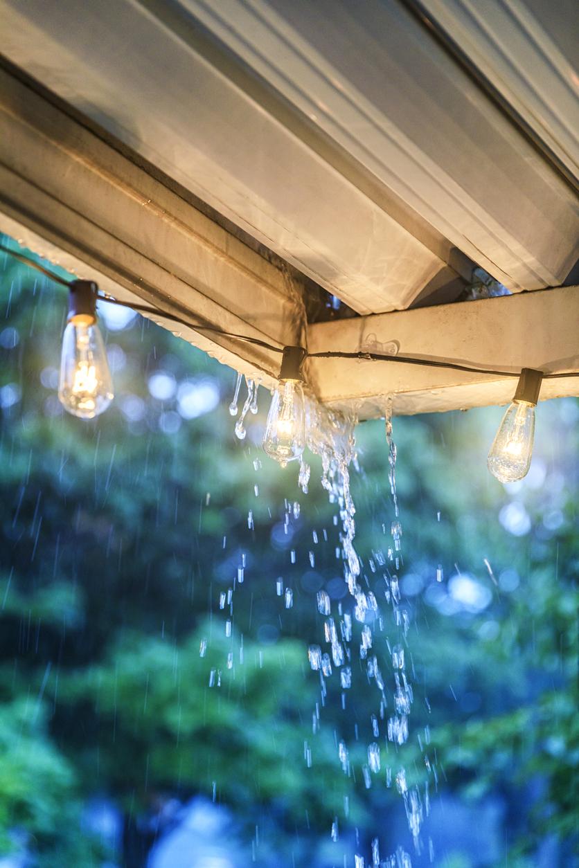 Freuen Sie sich, wenn es regnet. Es kann mitunter Ihre Nebenkosten senken