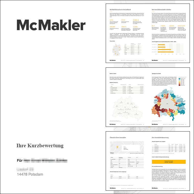 Kurzbewertung Immobilienwertrechner McMakler