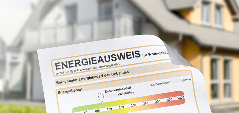 Energieausweis Titelbild