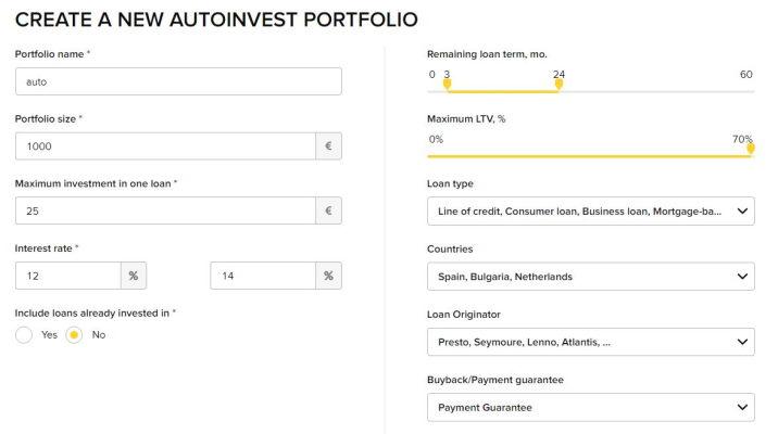 viventor auto-invest tool