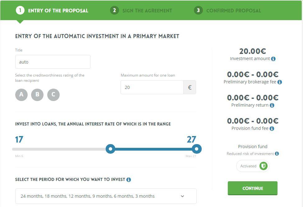 neo finance auto invest