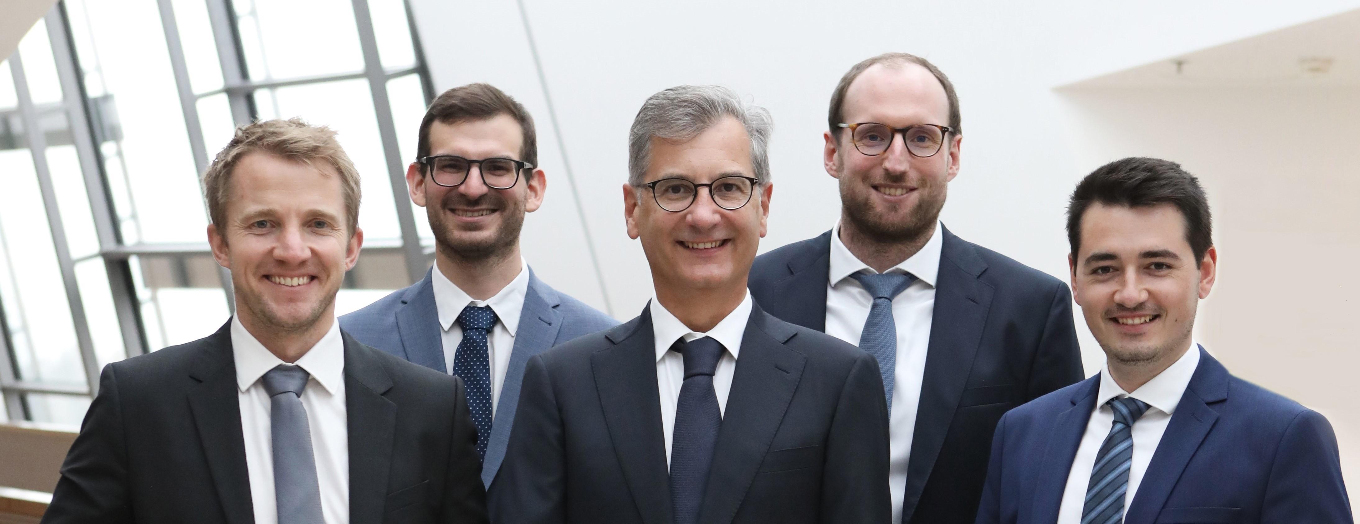 Gruppenfoto Juristen