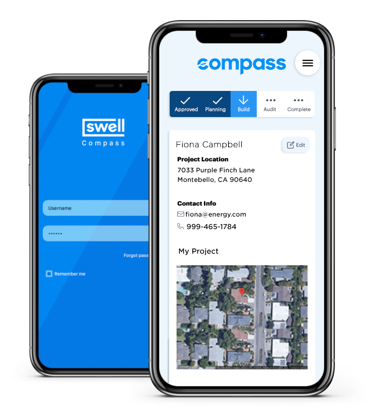 Swell Compass Application