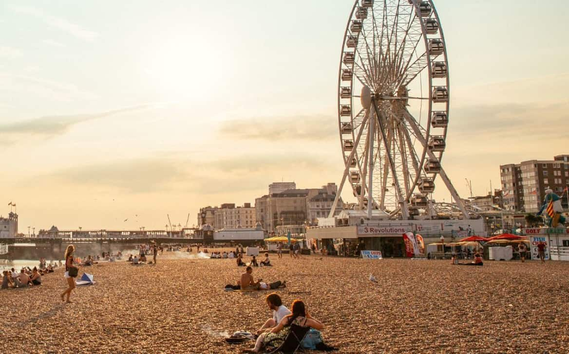 Colonie de vacances à Brighton