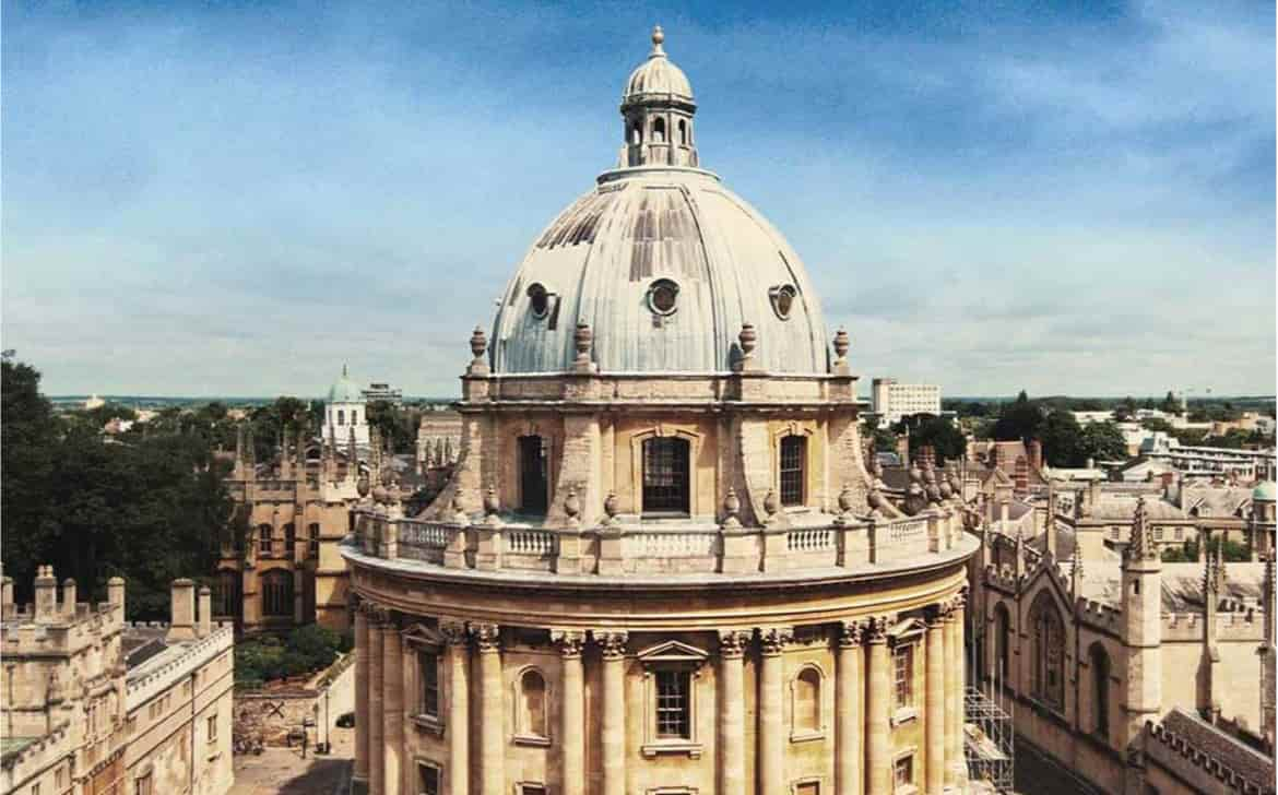 Formation d'anglais à Oxford