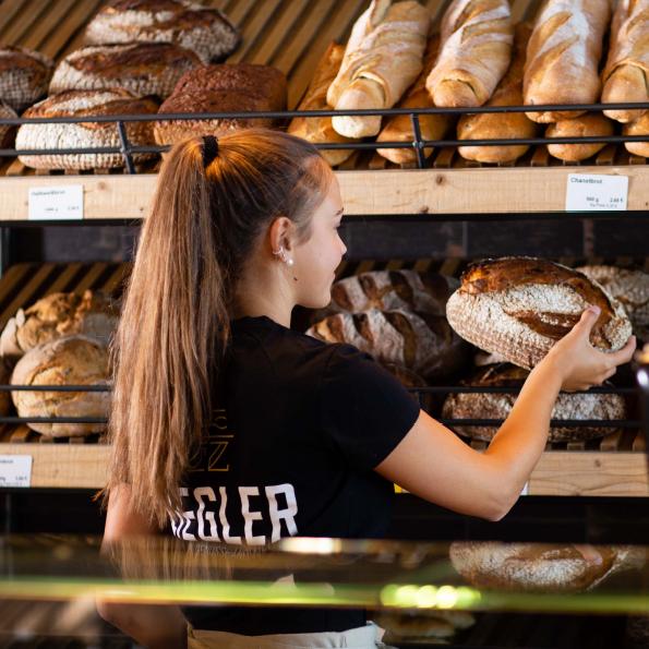 Ziegler Bäckerei Cafe Ausbildung Verkauf Verkäuferin Verkäufer
