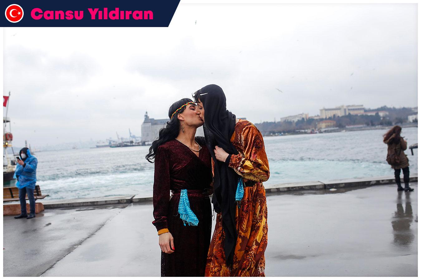 Title: Kurdish trans women | Category: RESISTING | Winner: Cansu Yıldıran, Turkey