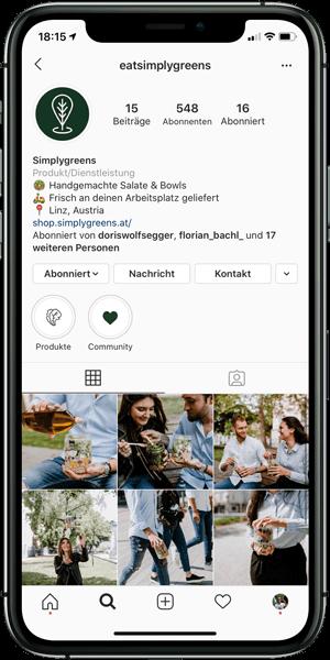 Simplygreens Instagram