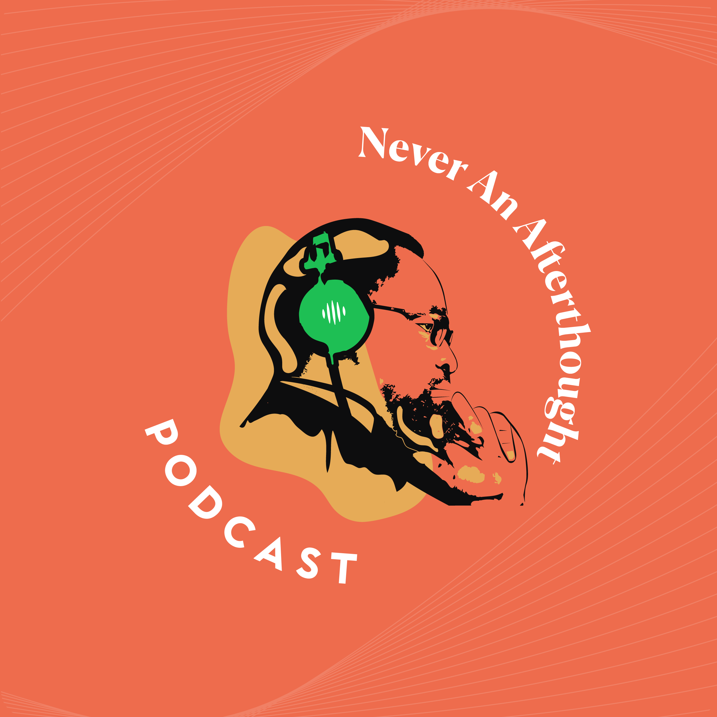 Never an Afterthought by Afolabi Sokpehi Imoukhuede Podcast Cover Art