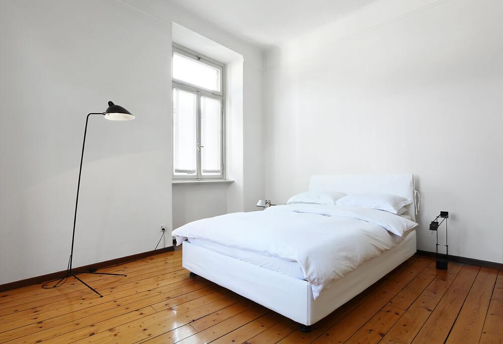 Zimmer ohne Teppichboden