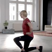 """Trainingsvideo """"Beine"""" Vorschau"""