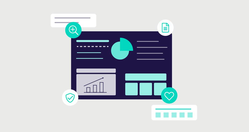 websms - Mit Tools, wie dem LINK Insight Dashboard, lassen sich alle gewonnenen Daten auswerten und analysieren, um Ihre RCS-Kampagnen stetig optimieren zu können.