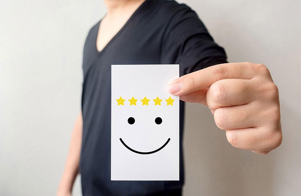 websms - Kundenzufriedenheit: Fünf Sterne - in 7 Schritten zu engerer Kundenbindung