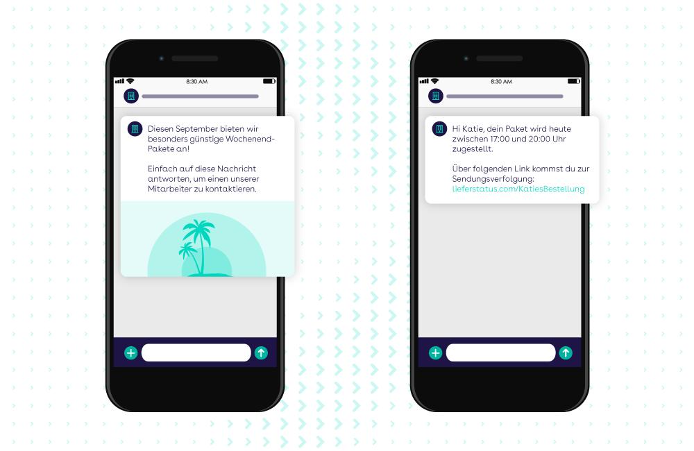 websms - Viber Messages bieten viele Möglichkeiten für die multimediale interaktive Kundenkommunikation