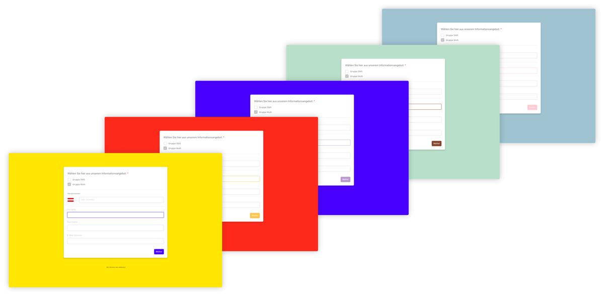 websms - Anleitung zum Styling der Opt-in-Formulare in der Messaging Suite