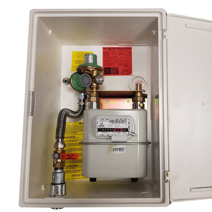 Clesse UK 2nd Stage Medium Pressure Inset MeterBox 37mb Outlet