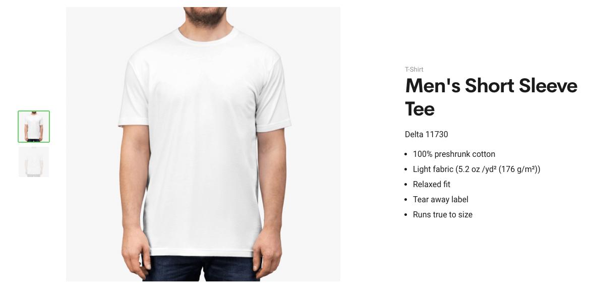 Men's Short Sleeve Tee