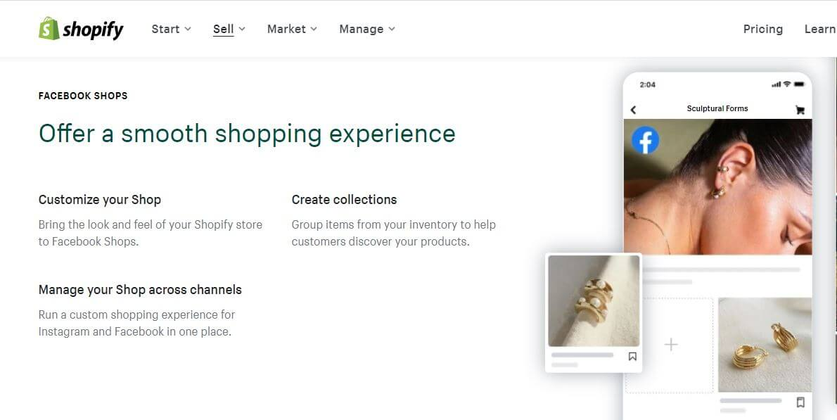 Shopify Ecommerce Features