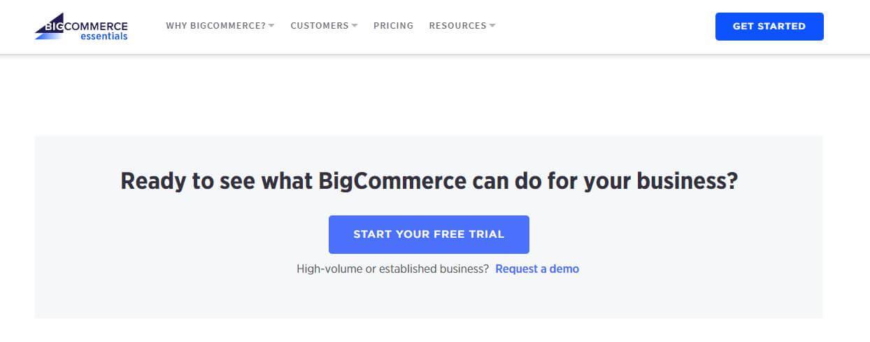 BigCommerce Get Started