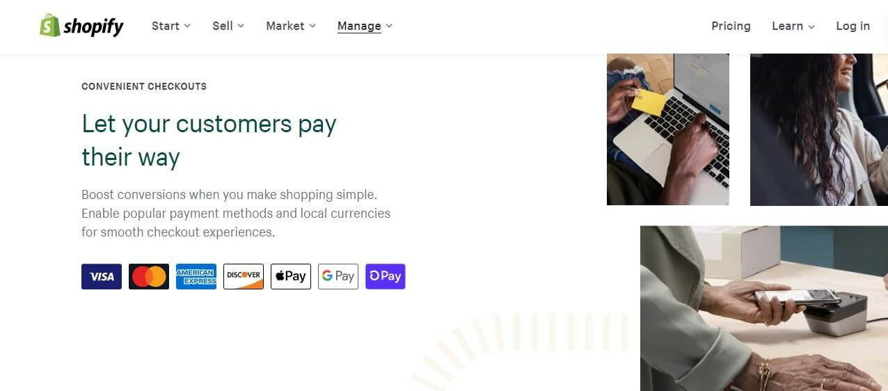 Shopify Payment Processing