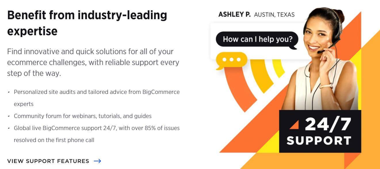BigCommerce Customer Support