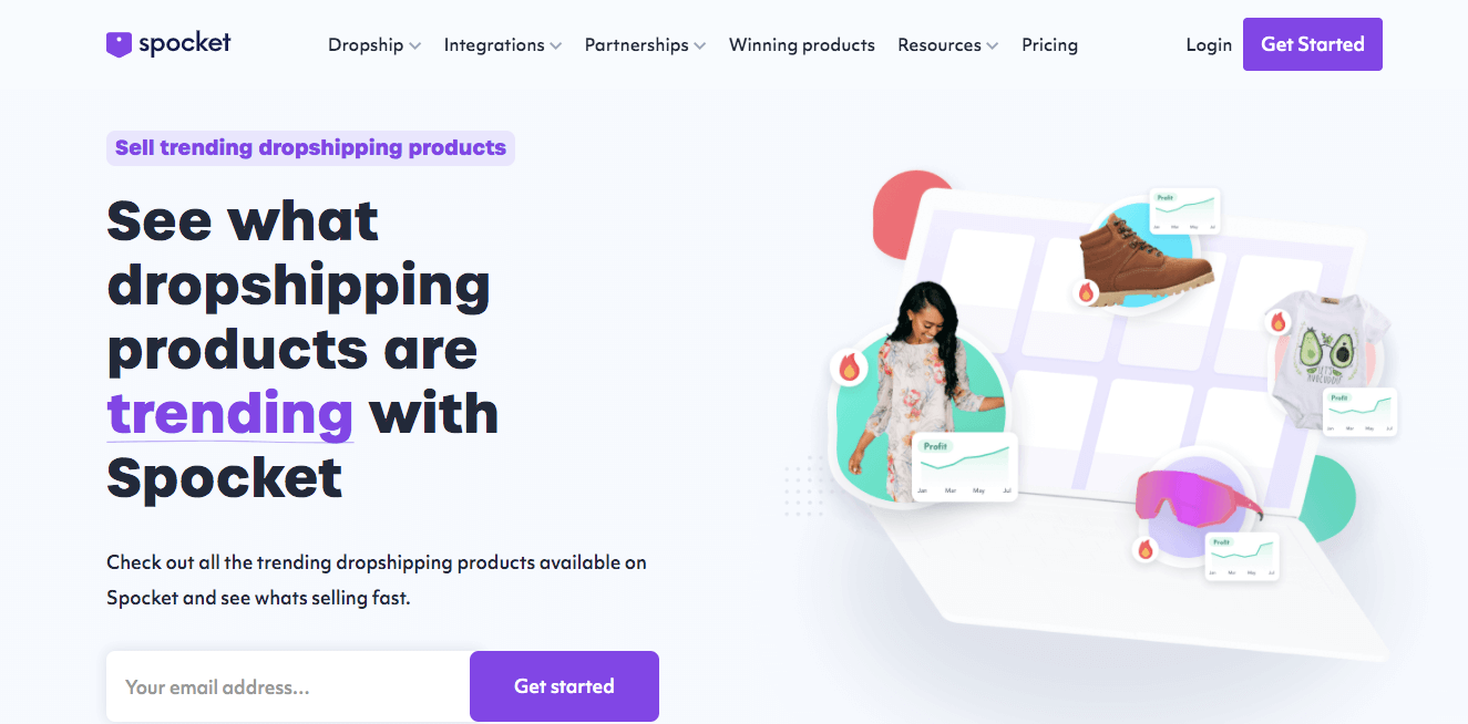 Spocket trending dropshipping products