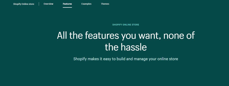 Shopify Building Online Platform