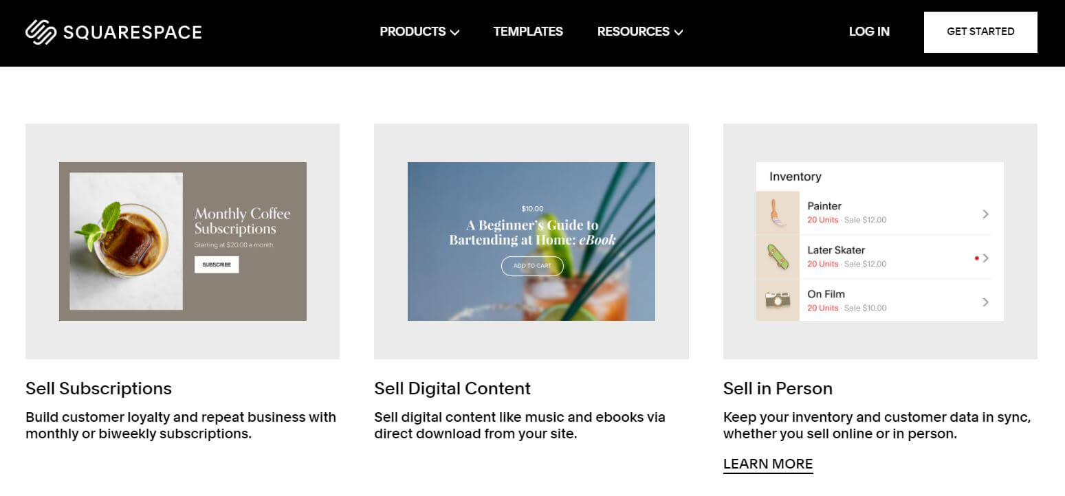 Squarespace Product Options