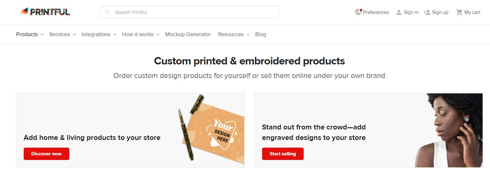 Printful Products and Features