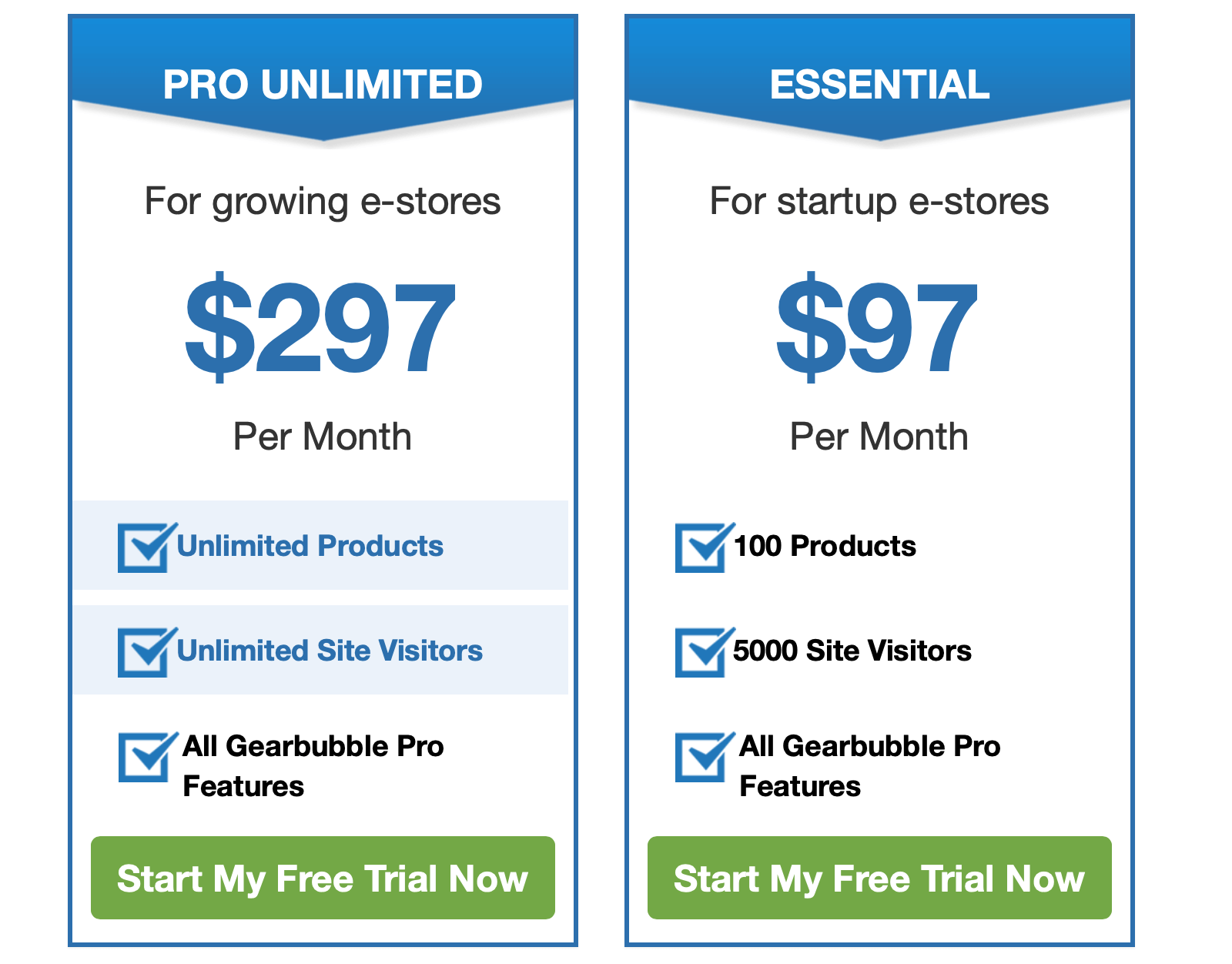 Gearbubble pro prices