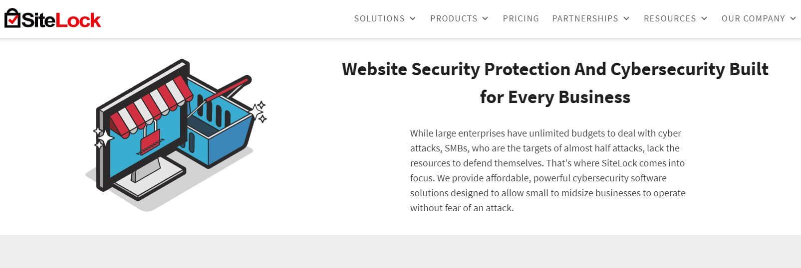 Sitelock Homepage Photo