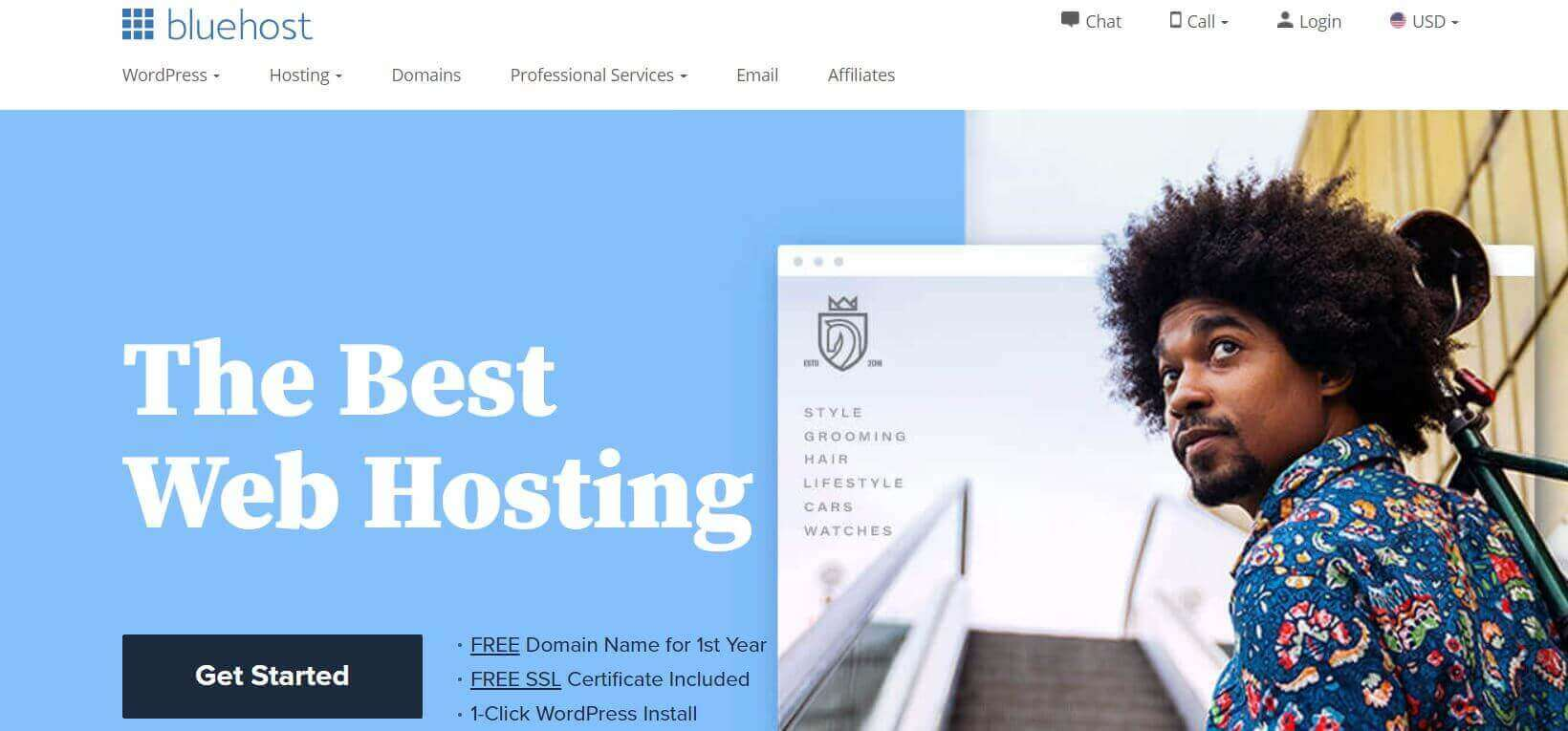 Bluehost Cover