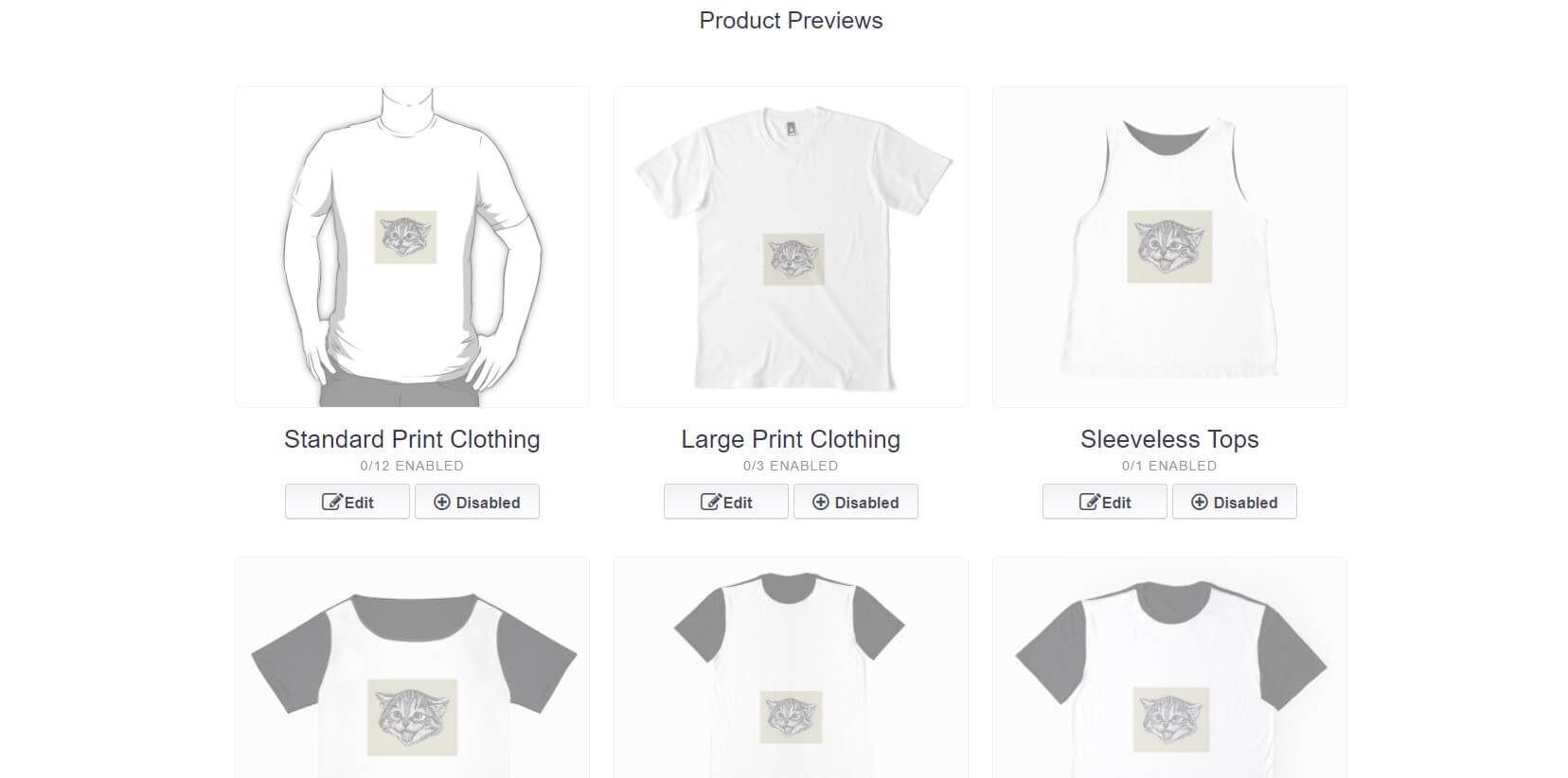 Redbubble Enabling Products