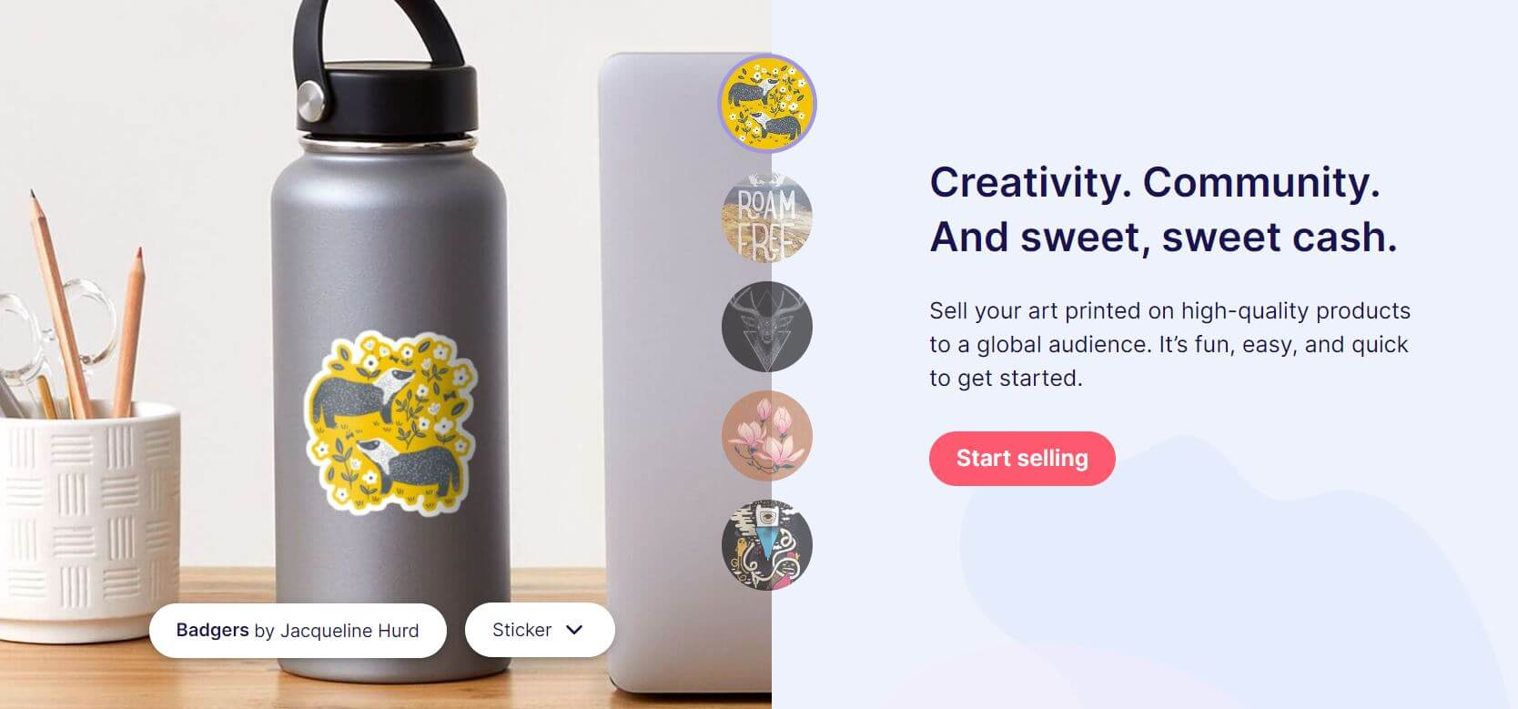 Get Started Selling On RedBubble