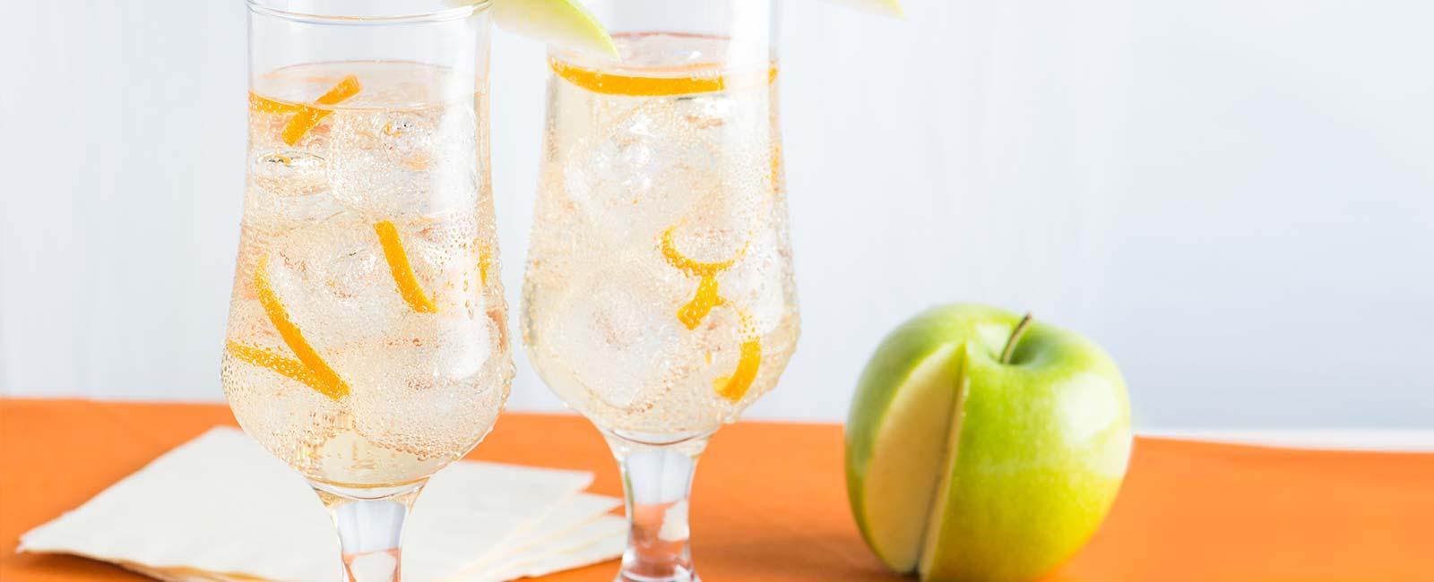 Sparkling White Grape and Apple Cider