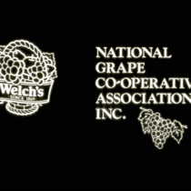 National Grape Co-Operative Association Inc. & Welch Grape Juice Company logos on black background