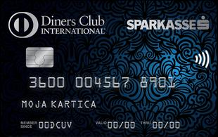 Kartica Diners Club Sparkasse