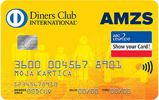 Kartica Diners Club AMZS