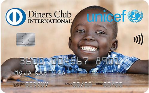Kartica Diners Club UNICEF